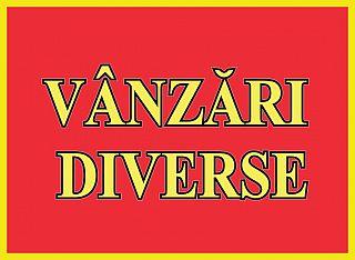 VANZARI DIVERSE