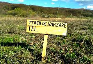 Vânzări terenuri