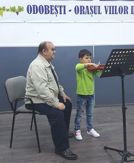 Stelian Ene și Edi Grosu la repetiții