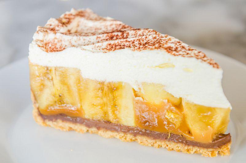 Tartă cu banane – fără coacere
