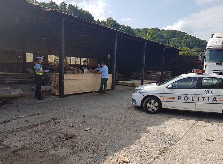 Fotografie transmisă de compartimentul de relații publice al Inspectoratului de Poliție Județean (IPJ ) Vrancea
