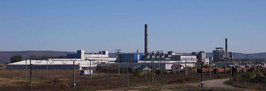 Fabrica din Adjud se întinde pe o suprafaţă de aproximativ 35 de ha