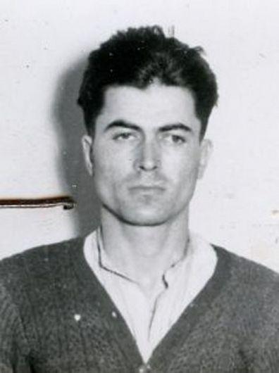 Ilie Chițu, fotografie de la arestare (sursă foto Sursa foto: ACNSAS, FP, dos. 001147, vol. 12)-Fotografie preluată de pe site-ul memorialsighet.ro