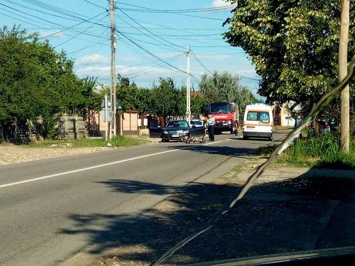 Marți dimineață 14 iulie 2020 pe DN 2 M Odobești - Unirea un autoturism a acroșat un biciclist.Din nefericire, biciclistul, un bărbat de 57 de ani din Odobesti a decedat.Foto:contul de facebook Primaria Odobesti