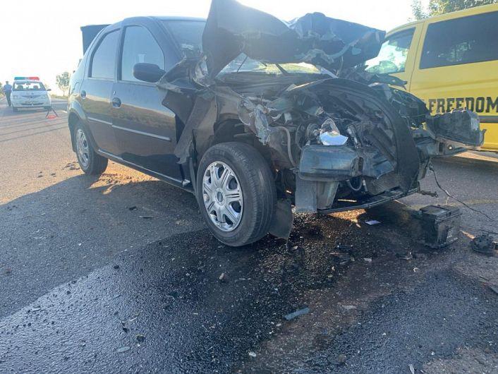 Miercuri 05 august 2020,dimineață, în timp ce conducea un autoturism pe DN2-E85, din direcția Vrancea către Buzău, un șofer de 37 de ani din Vrancea nu ar fi păstrat distanta corespunzătoare față de autoturismul care îl preceda și la volanul căruia se afla un conducător auto de 74 de ani din Valea Râmnicului, județul Buzău.Foto:sansanews.ro
