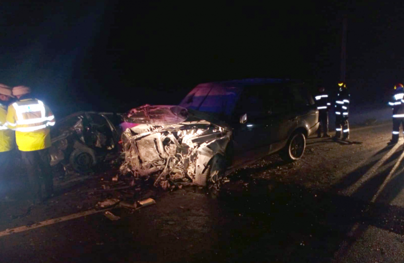 accident noaptea Adjud