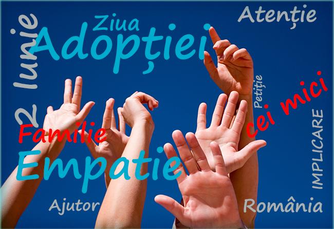 2 iunie este Ziua Naţională pentru Adopţie