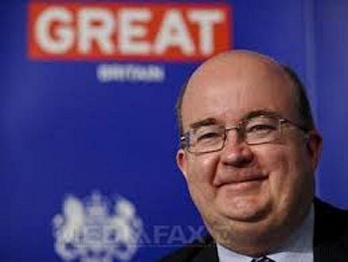 Ambasadorul Marii Britanii, Paul Brummel  ar putea susține vineri 08.09.2017 o conferință de presă, la Primăria Focșani