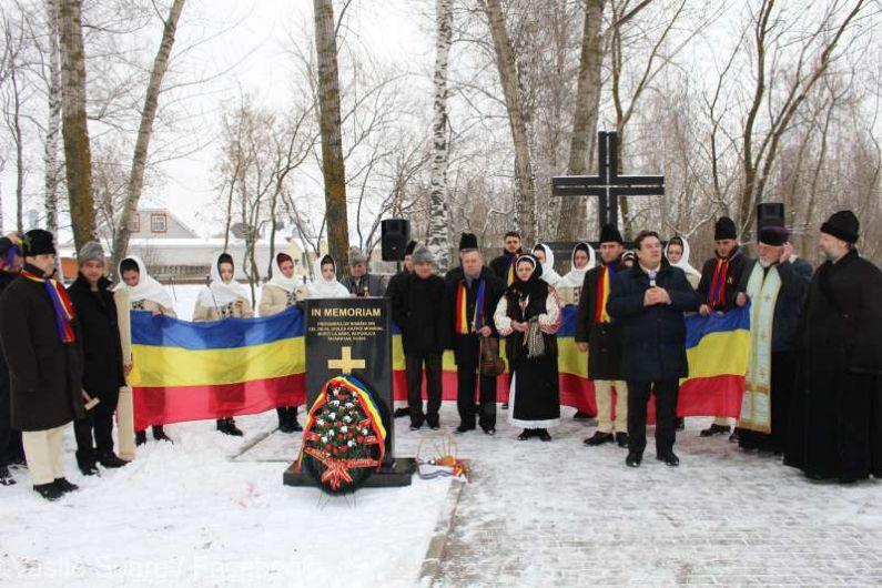 Ambasadorul vrâncean Vasile Soare:Douăsprezece monumente dezvelite în 2019 în memoria militarilor români morți în lagărele NKVD-foto:agerpres.ro