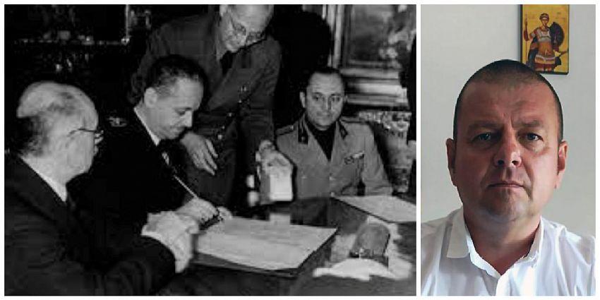 Analiza profesorului de istorie vrâncean Cătălin Mocanu în ZdV   Despre Dictatul de la Viena din 30 august 1940