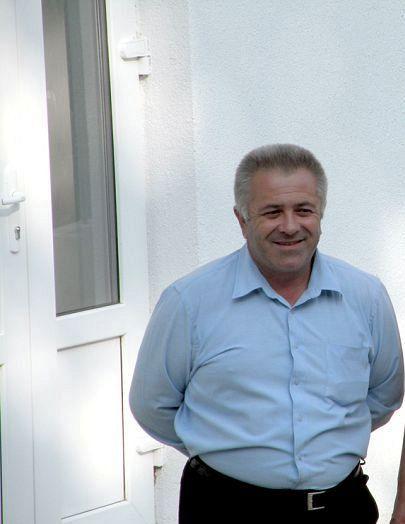 Primarul Vlad Petruș al comunei Poiana Cristei