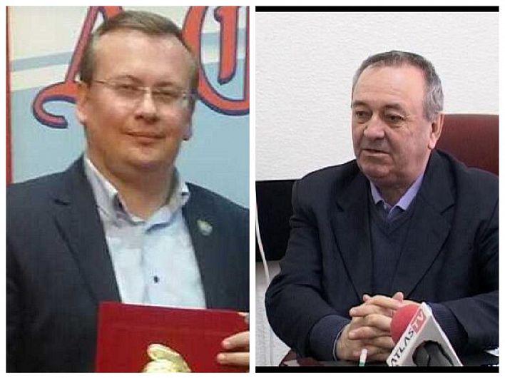 Nicolae Mărăscu, foto  dreapta va încerca să ocupe fotoliul pe care-a stat până acum, la primăria orașului  Panciu, Iulian Nica