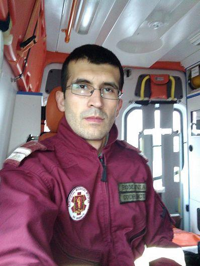 Plutonierul Sorin - Ionuţ Codrescu, asistent medical principal generalist la Spitalul Militar de Urgenţă