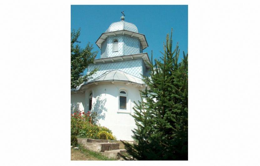 Biserica «Naşterea Maicii Domnului» de la M-rea Brazi.Foto:arhiepiscopiabzvn.ro