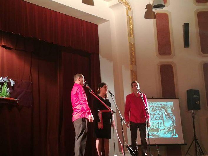 Grupul Vocal Accord - Verona Calmîş, Vasile Calmîş, Cristian Gheorghe.