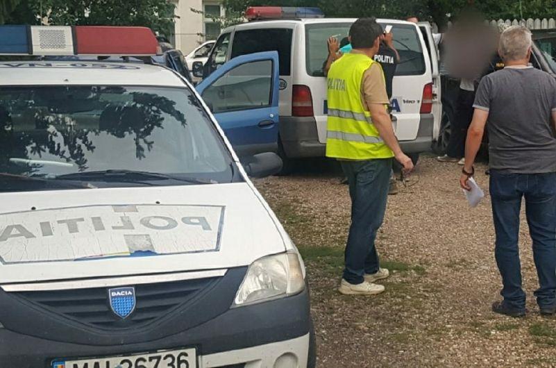 Fotografie primită de la compartimentulde relații publice al Inspectoratului Județean de Poliție (IPJ) Vrancea