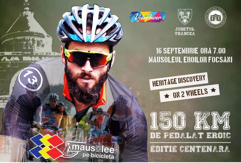 Bicicliștii sunt invitați să facă tursul mausoleelor din Vrancea