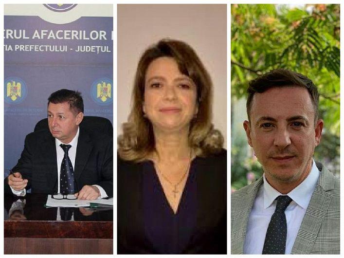 Gheorghiță Berbece, Claudia Serafimciuc și Radu Țigănuș au fost numiți miercuri 03 martie 2021, prin hotărâri ale premierului Florin Cîțu, în funcțiile de prefect și respectiv subprefecți de Vrancea conform recentelor modificări din legislație