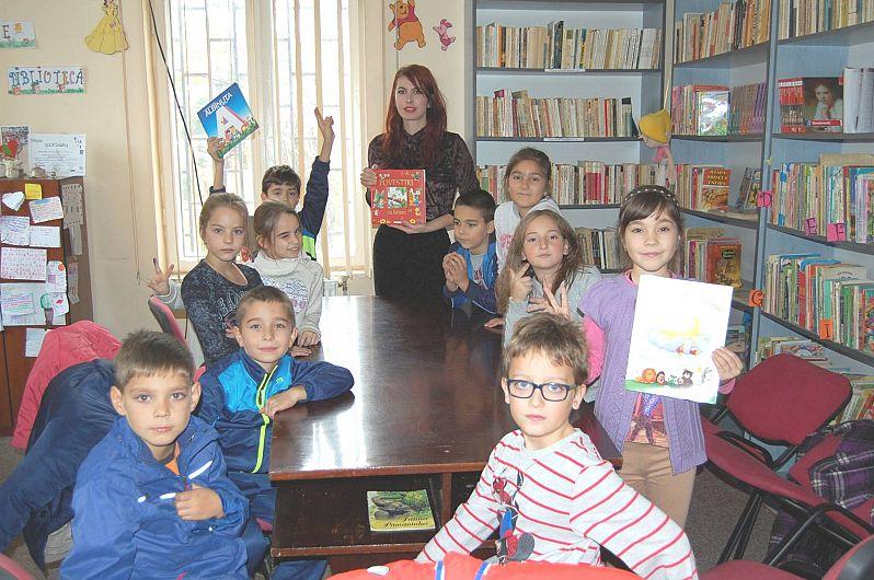 Foto: Secția de Copii a Bibliotecii Publice Odobești