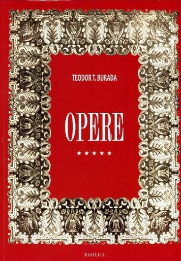 Foto3: Teodor T. Burada, Opere complete, vol. V