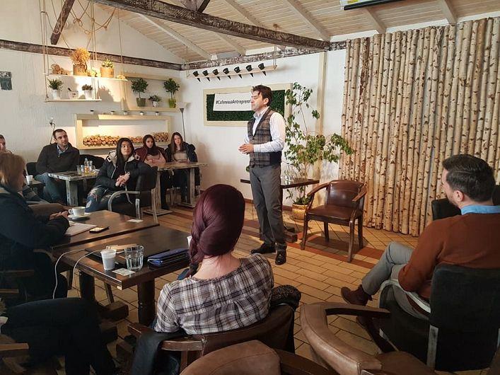 Macovei Liviu  Manager Contliv a participat și a fost susținător al unei prelegeri la Cafeneaua Antreprenorială  de la Focșani-10.02.2018