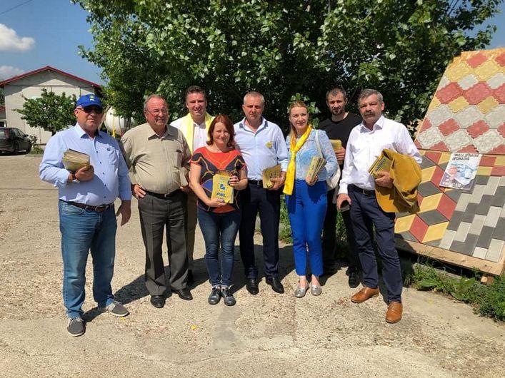 Ana-Maria Dimitriu s-a întâlnit cu oamenii din comuna Milcovul