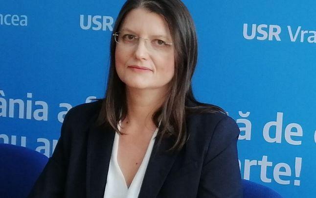 Noul preşedinte  al USR Focşani, Corina Atanasiu