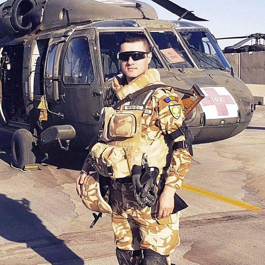 Iulian Cătălin Vlăsceanu-caporalul vrâncean decorat de Președintele României-Fotografie preluată de pe contul de facebook Veteranii Armatei României