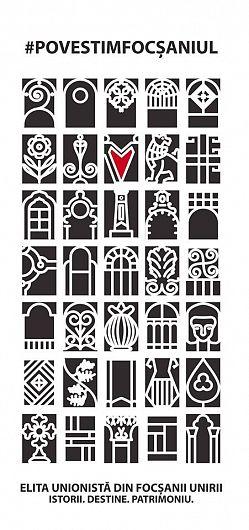Grafica de pe copertă, este grafică inspirată din arhitectura focșăneană veche pe care o promovăm prin intermediul acestei lucrări. Practic, fiecare poveste din carte are propriul său