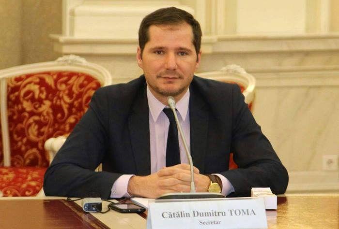 FOTO: Cătălin Toma, senator PNL de Vrancea