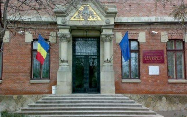 Colegiul Naţional Unirea, unul dintre cele mai râvnite din judeţ