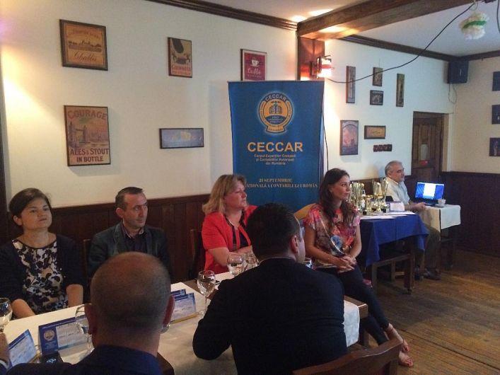 Corpul Experţilor Contabili şi Contabililor Autorizaţi din România (CECCAR) Filiala Vrancea a sărbătorit joi 21.09.2017 Ziua Naţională a Contabilului Român