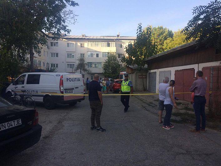 Garajul în care a fost găsit împușcat medicul chirurg Horațiu Colea