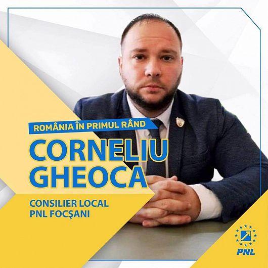Consilierul municipal CorneliuGheocaîiîndeamnă pe tinerisăvinăduminică la vot