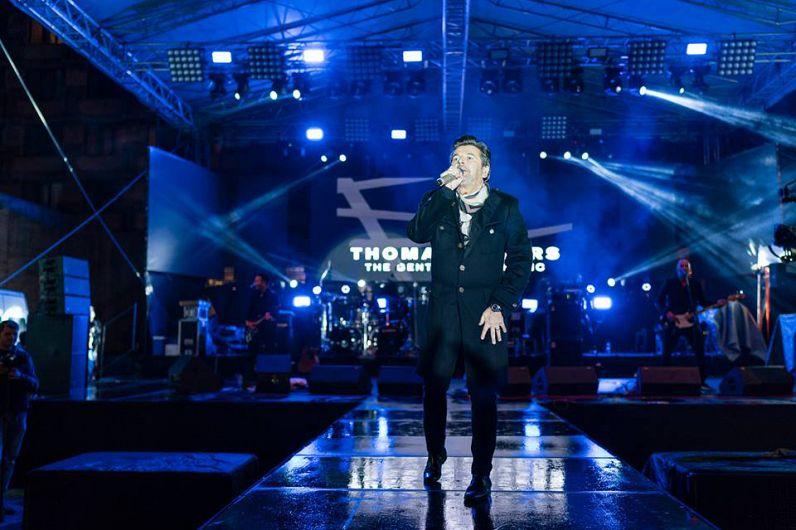 Thomas Anders a fost capul de afiș al festivalului de anul trecutBachus 2017