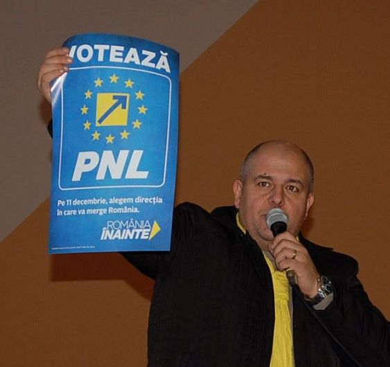 Foto Cristi Bălosu a fost copreședinte PNL Vrancea și președinte PNL Focșani