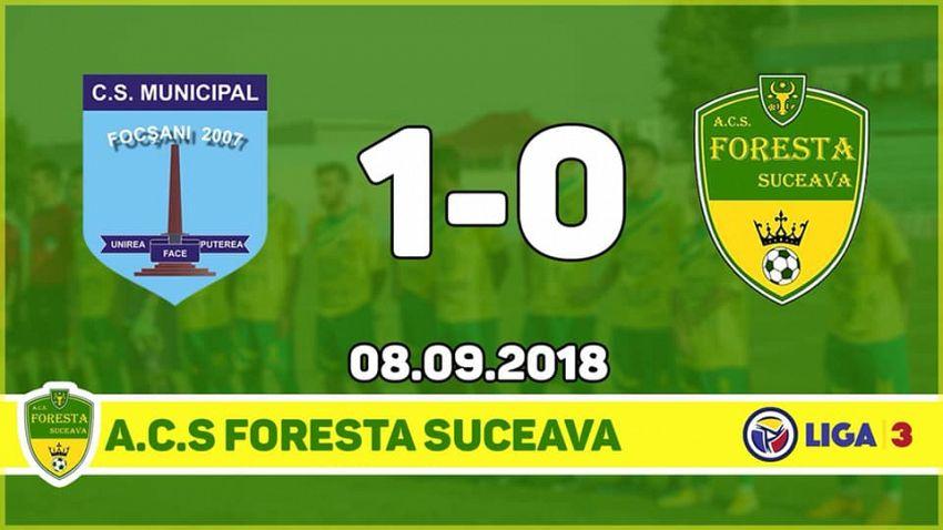 Fotografie preluată de pe contul de facebook  ACS Foresta Suceava Oficial