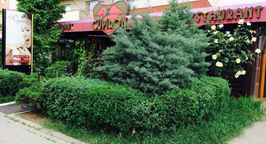 Restaurantul Cupidon din Focșani fostul sediu al FSN în anii ' 90