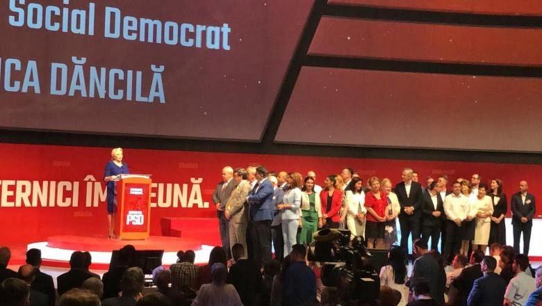 Congres al PSD fără Dragnea-sâmbătă 29 iunie 2019 , la Sala Palatului din București-Foto:digi24.ro