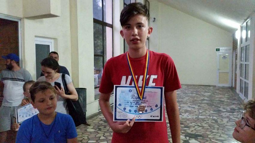 Loc II Baieti - Atanasiu   Marius la la Cupa Vrancei la șah blitz pentru copii și juniori grupa open -26.06.2018
