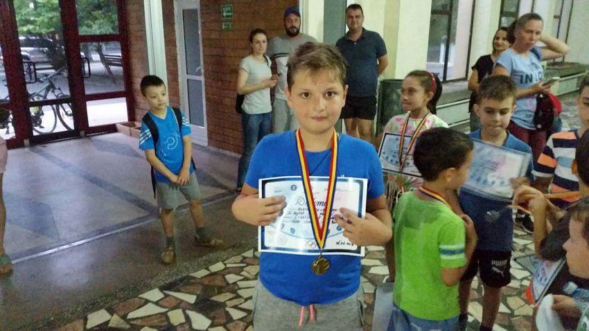 Loc I Clasam general _ Pila   Denis la Cupa Vrancei la șah blitz pentru copii și juniori grupa open -26.06.2018