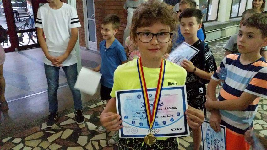 Loc I Baieti - Grecu Yannis-la Cupa Vrancei la șah blitz pentru copii și juniori grupa open -26.06.2018