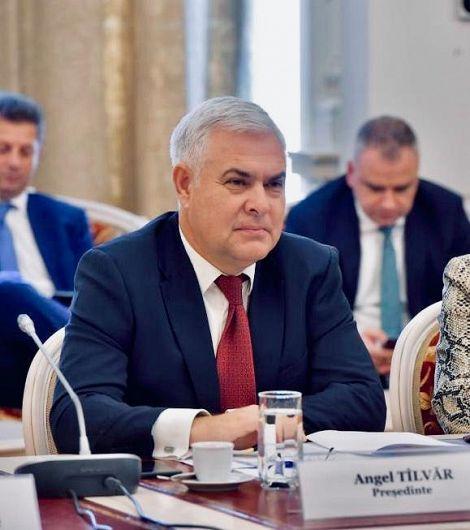 Angel Tîlvăr,Senator PSD de Vrancea,Președintele Comisiei pentru Afaceri Europene din Senat