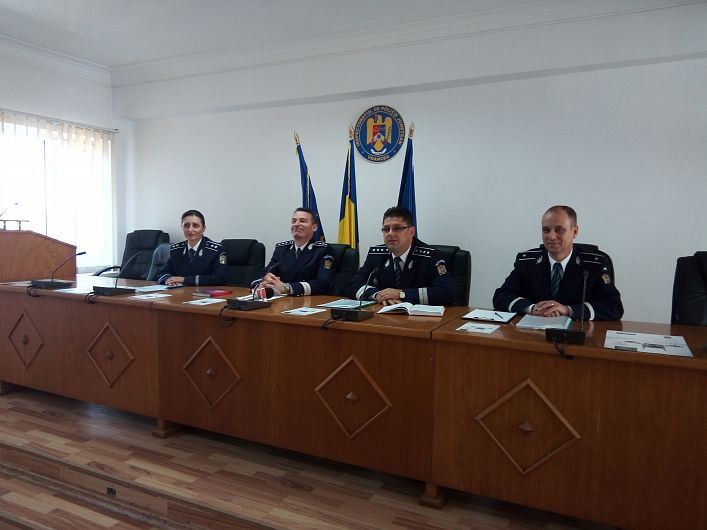 Foto: Comanda IPJ Vrancea a prezentat sinteza activității din primele 7 luni ale anului în domeniul silvic