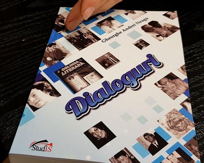 """Foto: """"Dialoguri"""" reprezintă o colecție de interviuri date și luate de-a lungul timpului la Radio, TV sau diverse publicații"""