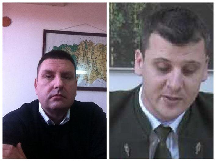 Inginerul silvic Victor Dumitru (foto stânga) îl înlocuiește începând din 9 aprilie 2020 pe inginerul silvic Lucian Zamfir (foto dreapta) în fotoliul de director al Direcției Silvice Vrancea