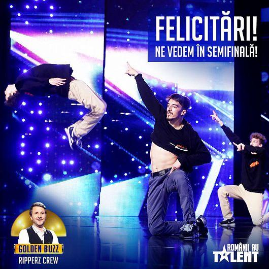 Fotografie preluată de pe contul de facebook Romanii au talent