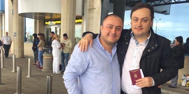 Ovidiu și Ciprian  Burdușa au făcut o donație consistentă spitalului orășenesc Panciu.Foto:emigrantul.it