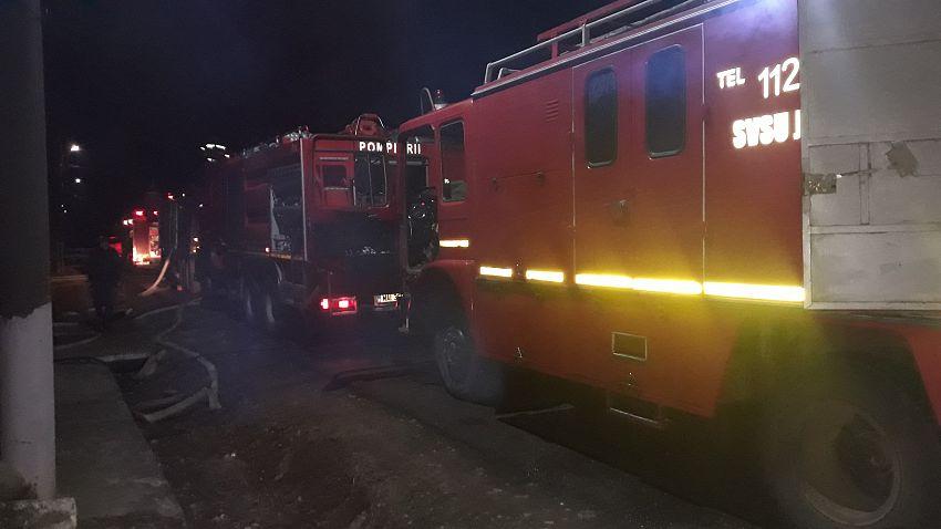 Incendiu la o locuinţă din satul Pădureni, comuna Jariştea 30.03.2020 după ora 1:00-Foto1 SVSU Jarșiștea
