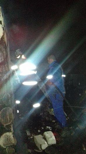 Incendiu la o locuinţă din satul Pădureni, comuna Jariştea 30.03.2020 după ora 1:00-Foto 6 SVSU Jarșiștea